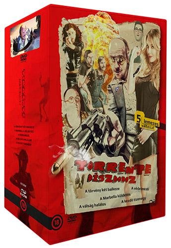 Torrente 2 - A Marbella k�ldet�s DVD