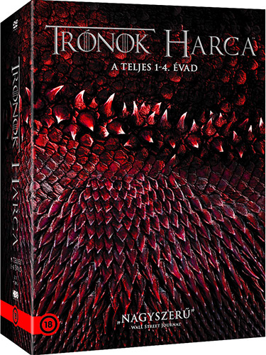 Tr�nok harca 1-4. �vad d�szdoboz (20 DVD) DVD