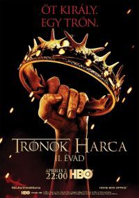 Trónok harca: 2. évad (5 DVD) DVD