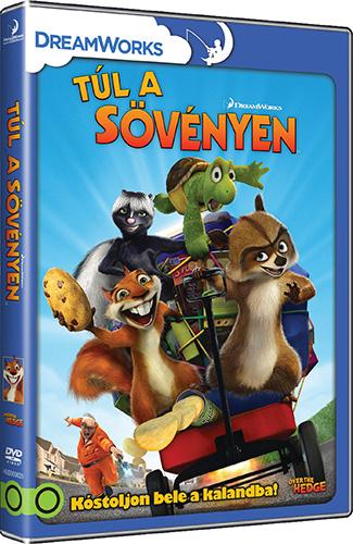 Túl a sövényen DVD