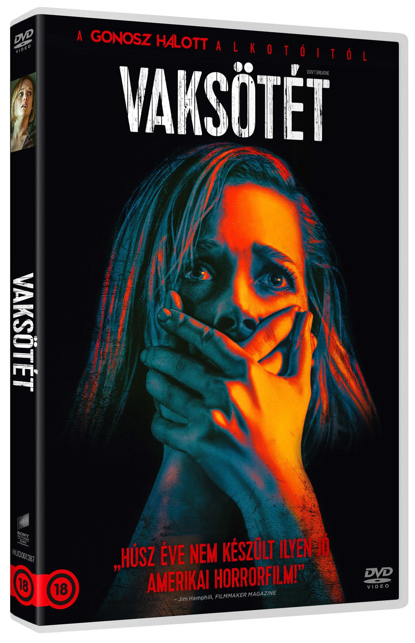 Vaksötét DVD