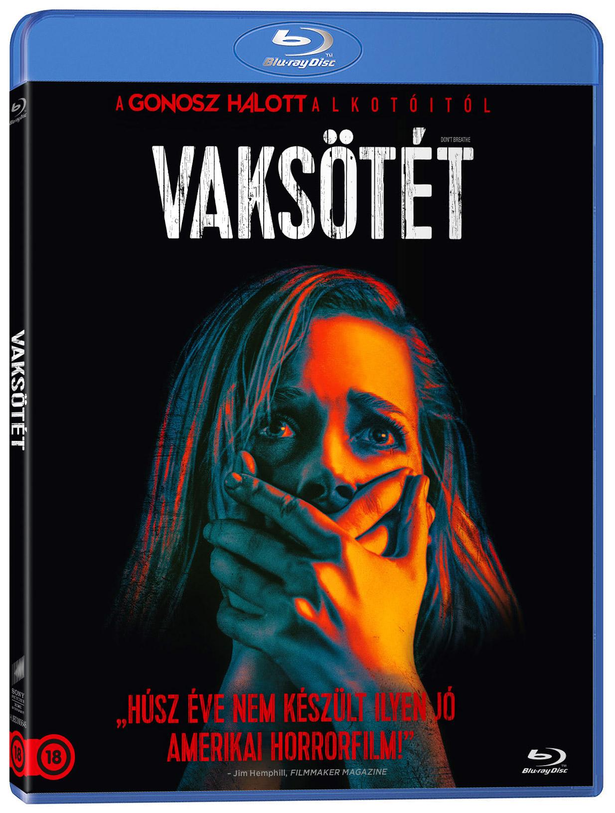 Vaksötét Blu-ray