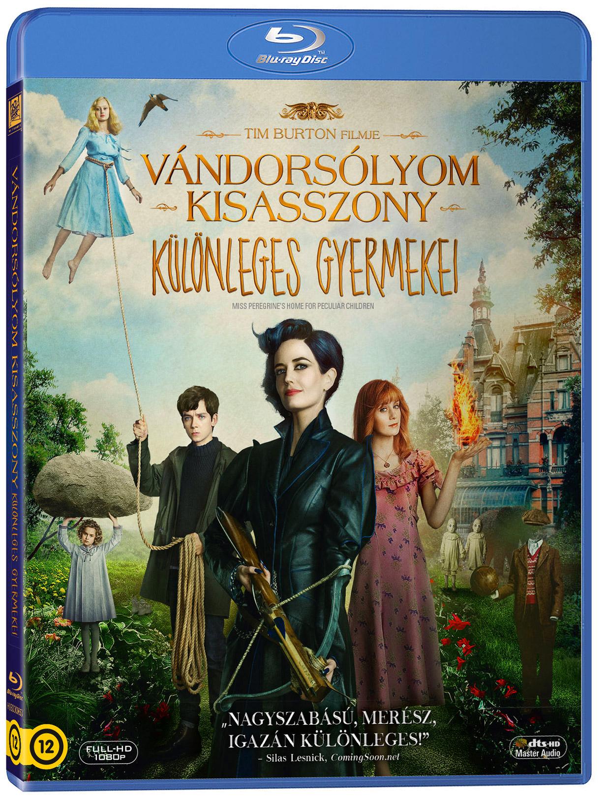 Vándorsólyom kisasszony különleges gyermekei Blu-ray
