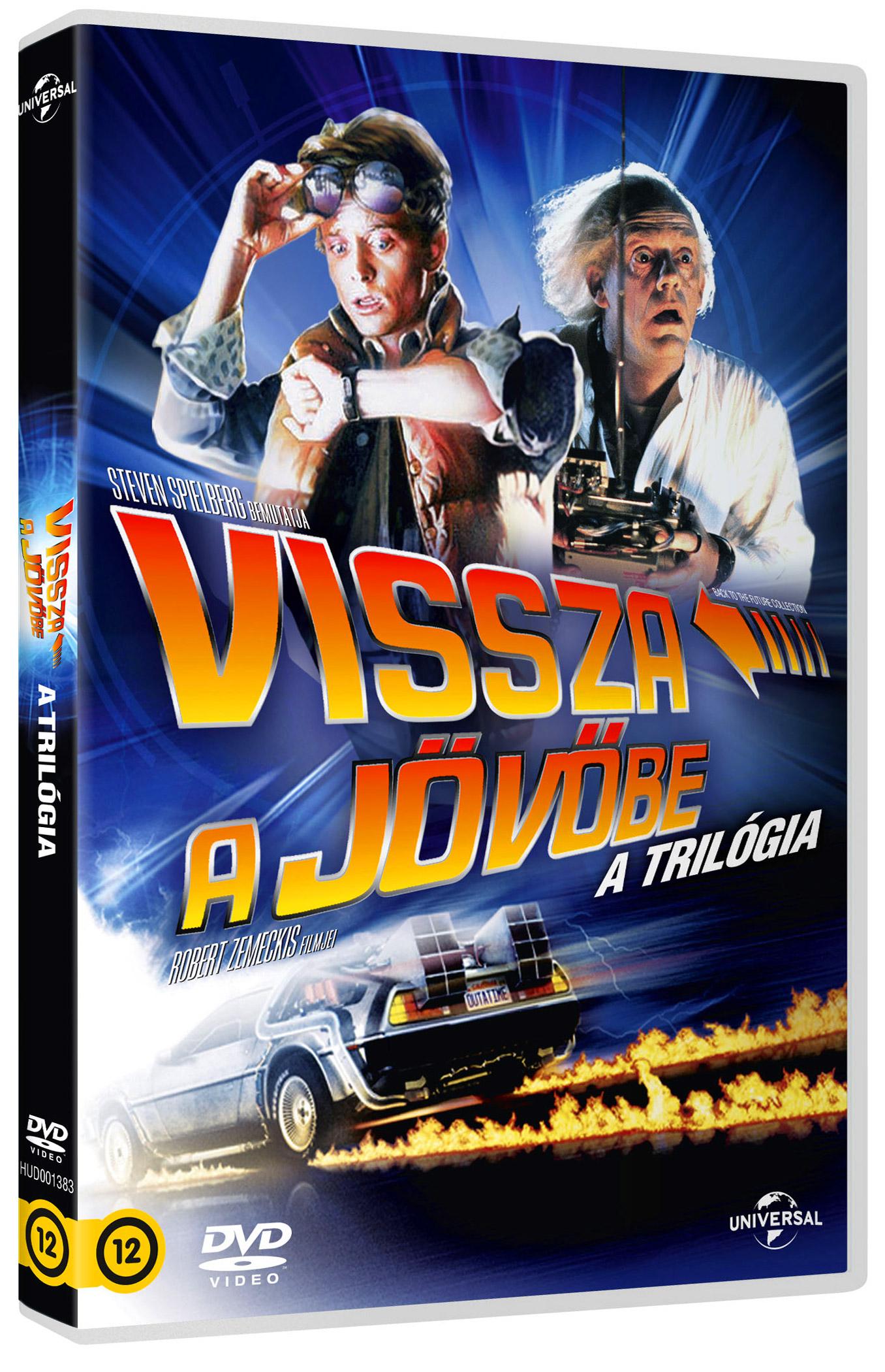 Vissza a jövőbe trilógia (3 DVD) - Llimitált kiadás DVD