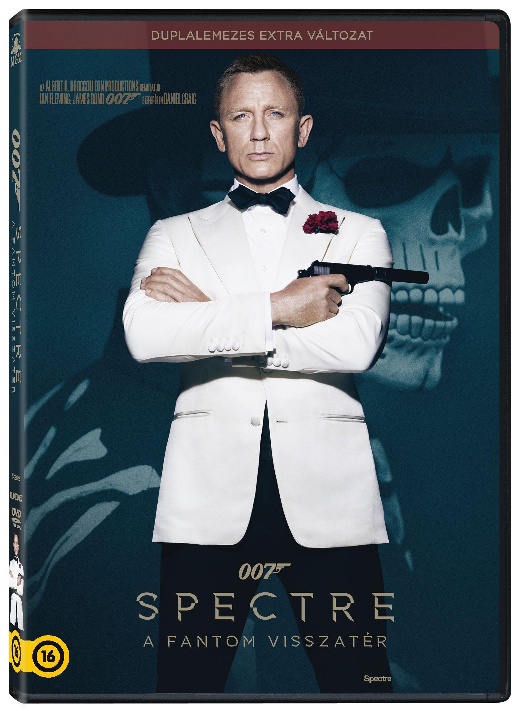 007 Spectre - A Fantom visszatér DVD