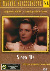 5 óra 40 DVD