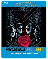 A Da Vinci-kód - limitált, fémdobozos változat (POP ART steelbook) Blu-ray
