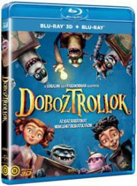 A Doboztrollok Blu-ray