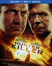 A Hunter Killer küldetés Blu-ray