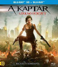 A Kaptár - Utolsó fejezet 2D és 3D Blu-ray