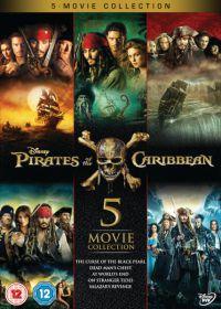 A Karib-tenger kalózai 1-5 DVD gyűjtemény (5 DVD) DVD