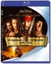 A Karib-tenger kalózai 1.-A fekete gyöngy átka Blu-ray