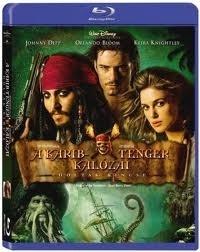 A Karib-tenger kalózai 2. - A holtak kincse *Import-Idegennyelvű borító* Blu-ray