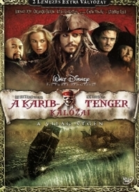 A Karib-tenger kalózai 3. - A világ végén DVD