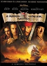 A Karib-tenger kalózai - A Fekete Gyöngy átka DVD