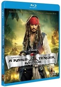 A Karib-tenger kalózai: Ismeretlen vizeken Blu-ray