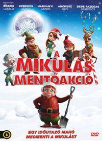 A Mikulás mentőakció DVD