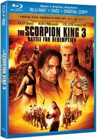 A Skorpiókirály 3. - Harc a megváltásért Blu-ray