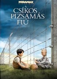 A csíkos pizsamás fiú DVD