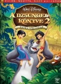 A dzsungel könyve 2. DVD