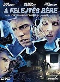 A felejtés bére DVD