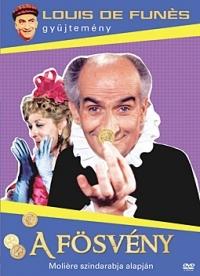 A fösvény DVD