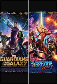 A galaxis őrzői 1-2 (2 DVD) DVD