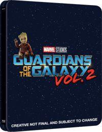 A galaxis őrzői 2. *Import-Idegennyelvű borító* Blu-ray