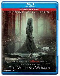 A gyászoló asszony átka Blu-ray
