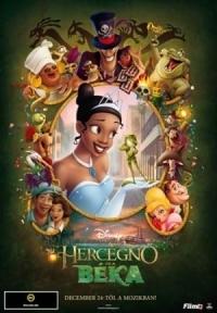 A hercegnő és a béka DVD