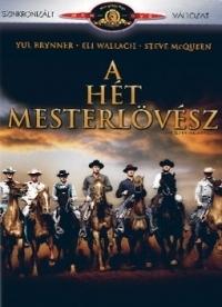 A hét mesterlövész DVD