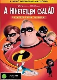 A hihetetlen család DVD