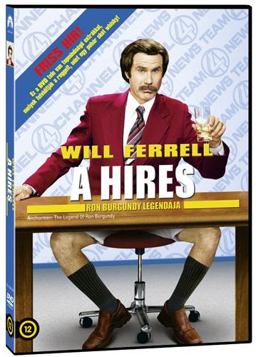 A híres - Ron Burgundy legendája DVD