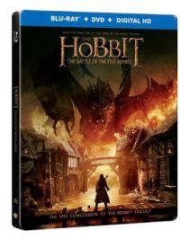 A hobbit: Az öt sereg csatája - duplalemezes, fémdobozos változat (steelbook) (2 Blu-ray) (20298) Blu-ray