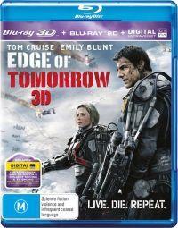 A holnap határa 2D és 3D Blu-ray
