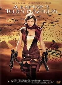 A kaptár 3. - Teljes pusztulás DVD