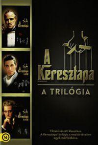 A keresztapa-trilógia (3 DVD) *Díszdobozos kiadás* DVD