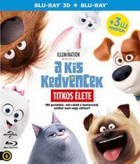 A kis kedvencek titkos élete 2D és 3D Blu-ray