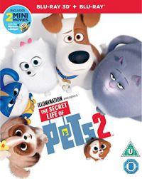 A kis kedvencek titkos élete 2. 2D és 3D Blu-ray