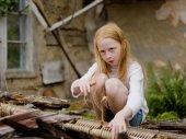 A kislány