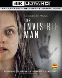 A láthatatlan ember (2020) (4K UHD + Blu-ray) Blu-ray