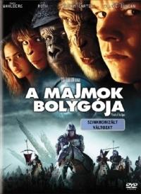 A majmok bolygója DVD
