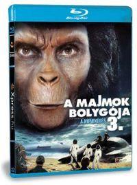 A majmok bolygója 3. - A menekülés Blu-ray