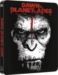 A majmok bolygója - Forradalom - limitált, fémdobozos változat (steelbook) (Blu-ray3D+Blu-ray) 2D és 3D Blu-ray