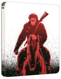 A majmok bolygója - Háború  - limitált, fémdobozos változat (steelbook) 2D és 3D Blu-ray