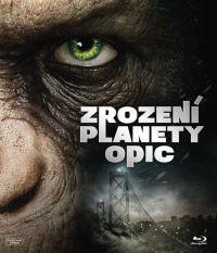 A majmok bolygója - Lázadás Blu-ray