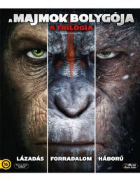 A majmok bolygója - a trilógia (3 Blu-ray) Blu-ray