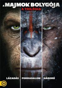 A majmok bolygója - a trilógia (3 Blu-ray) - limitált, fémdobozos változat (steelbook) Blu-ray