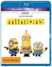 A minyonok 2D és 3D Blu-ray