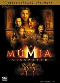 A múmia visszatér DVD